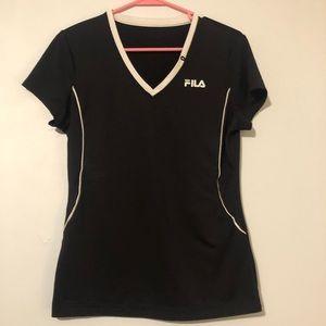 athletic low cut t-shirt